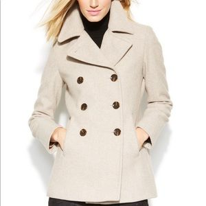 Calvin Klein Double Breasted Wool Peacoat Size 6